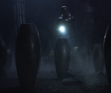 Screenshot aus dem Film Prometheus_Eier