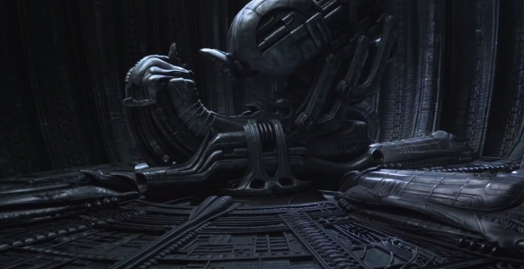 Screenshot aus dem Film Prometheus - Raumschiff